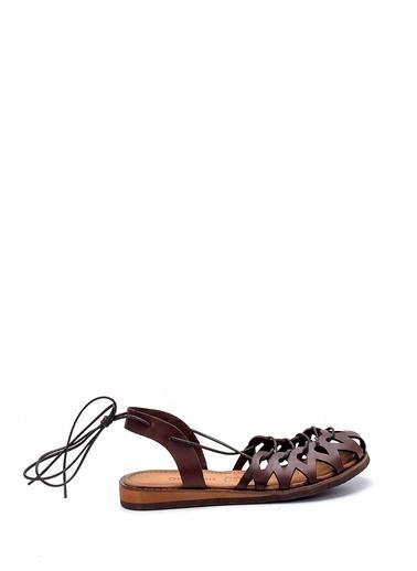 Derimod Kadın Sandalet (Ac127) Casual Kahve